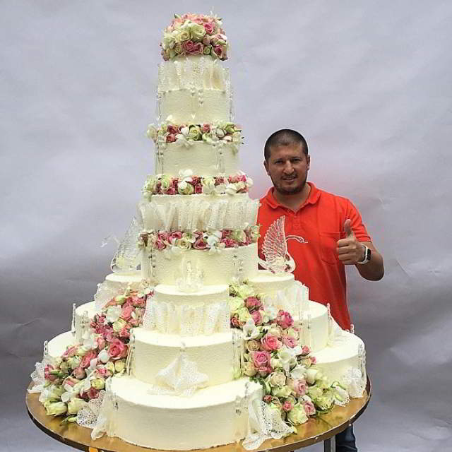 Удивительной красоты торты!!!