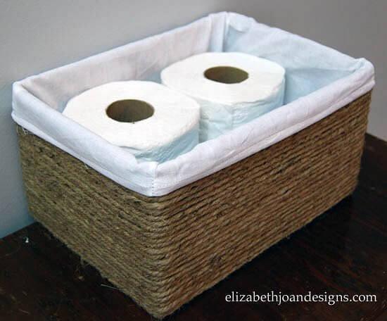 Как превратить коробку в то, что каждый из нас хотел бы иметь в своей ванной