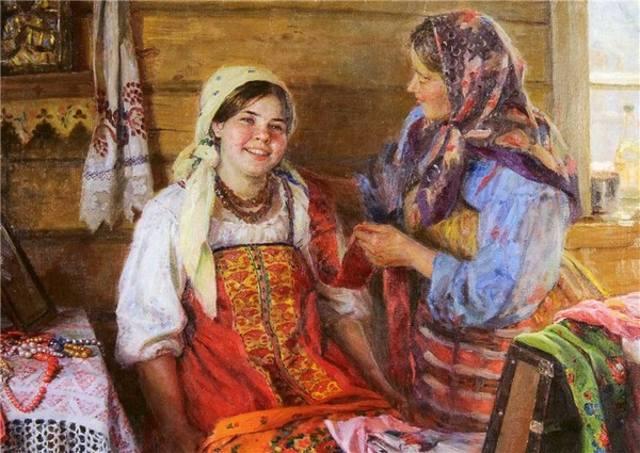 Что умела 10-летняя девочка на Руси 100 лет назад?