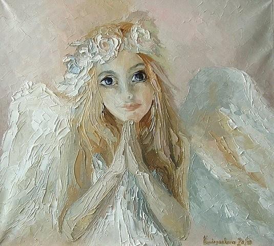 """""""А там – на небе тоже суета  И ангел поедает мандарины... """""""