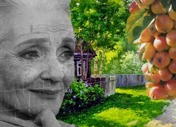 Баба еще крепкая. Ни разу, кажись, не болела. Не приставала к ней хворь, как гниль не пристает к дубовой жердине...