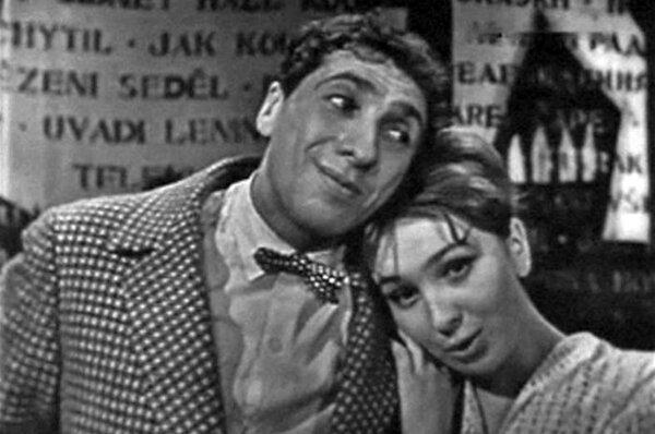 Сергей Юрский и Наталья Тенякова в телесериале «Большая кошачья сказка» (1965)