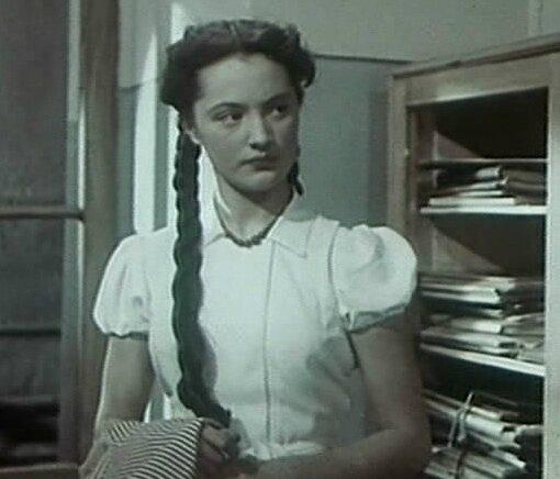 """Ариадна Шенгелая в фильме """"Екатерина Воронина"""" (1957)"""