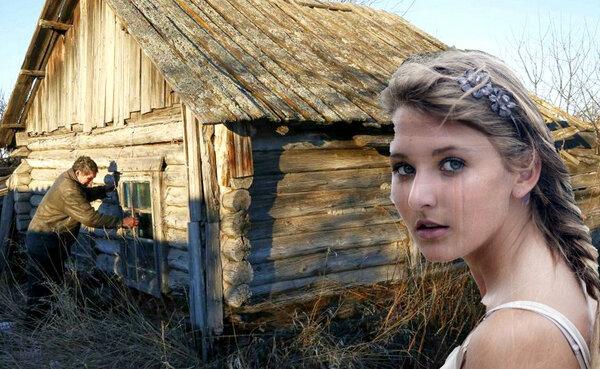 Ивановы строились. За лето кирпичный дом высоко и белостенно вырос.