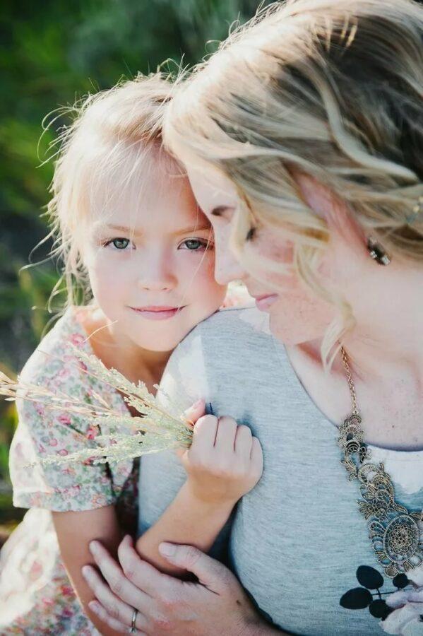 Милая мама, если я знаю, что такое любовь, то это благодаря тебе!