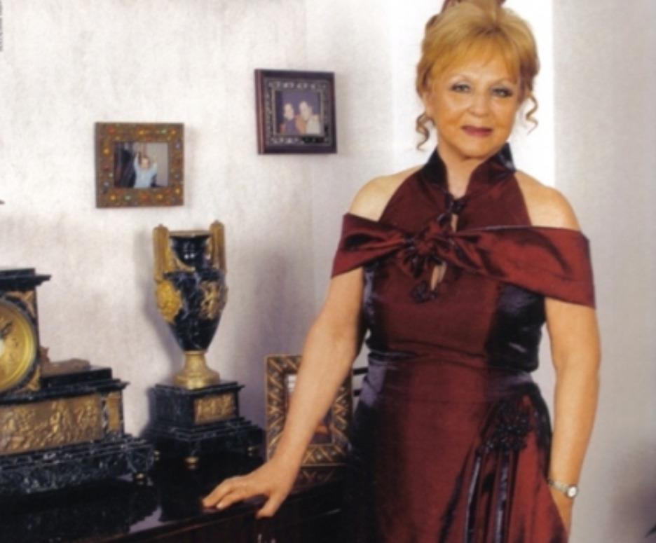 Зоя Зелинская в 80-ых. Фото из личного архива актрисы