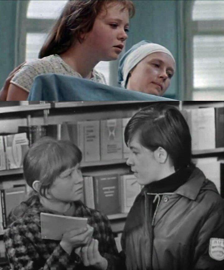 """1. """"Каждый день доктора Калинниковой"""" (1973); 2. """"Ребята с нашего двора"""" (1973)"""