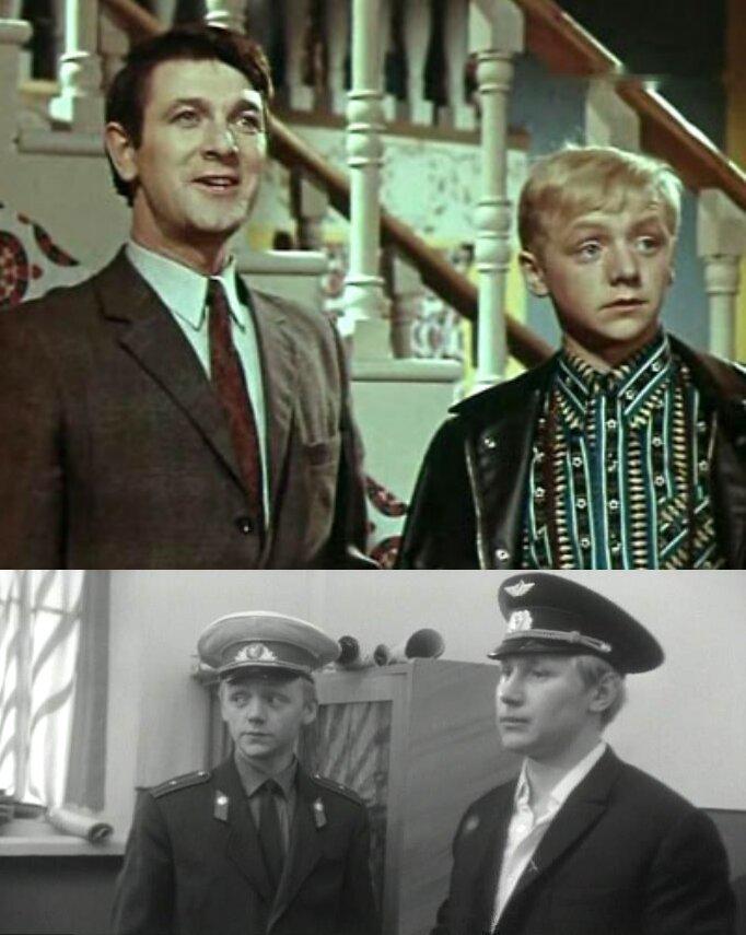 "1. ""Факир на час"" (1971) 2. ""Разрешите взлёт!"" (1971)"