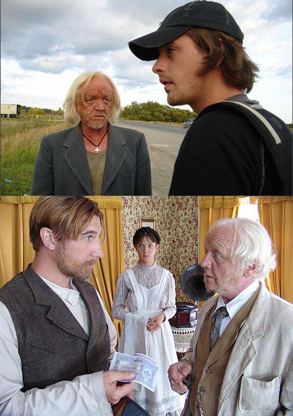 """1. """"Граффити"""" (2006) 2. """"Пелагия и белый бульдог"""" (2009)"""