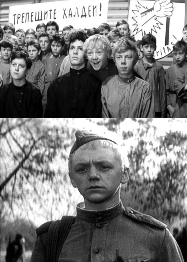 """1. """"Республика ШКИД"""" (1966) 2. """"Годен к нестроевой""""(1968)"""