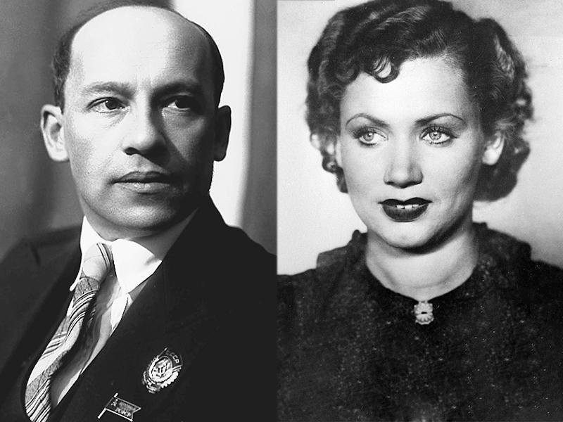 Лидия Смирнова и Исаак Дунаевский
