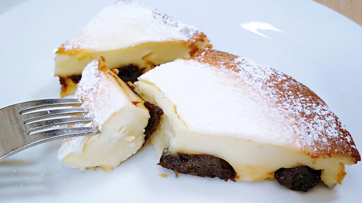 Молочный французский пирог с черносливом Фар Бретон