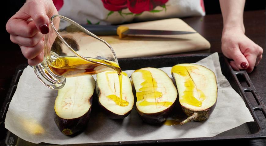 Фото приготовления рецепта: Баклажаны по-грузински, шаг №6