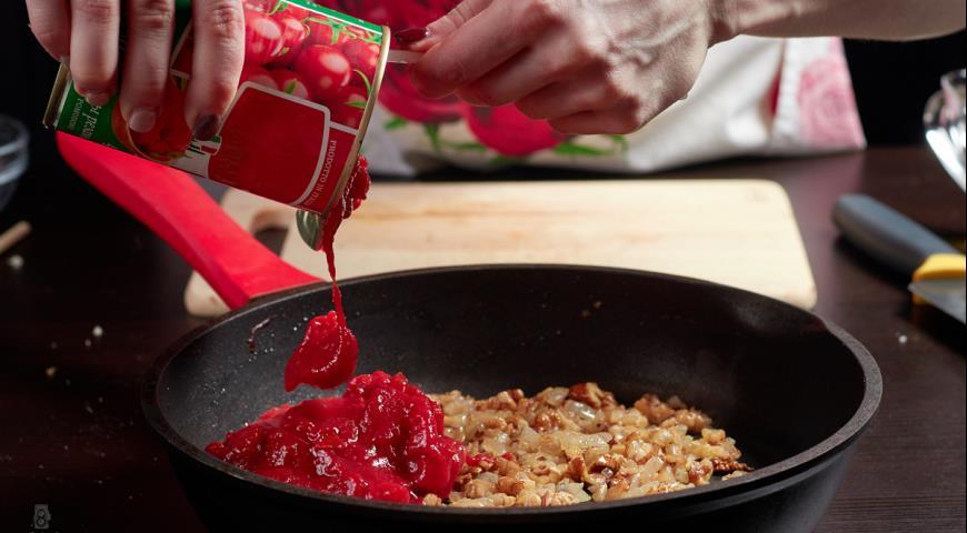 Фото приготовления рецепта: Баклажаны по-грузински, шаг №8